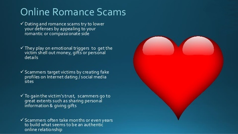 Recent dating scams